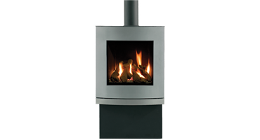 Riva Nemos Brushed Stainless - LPG - Balanced Flue