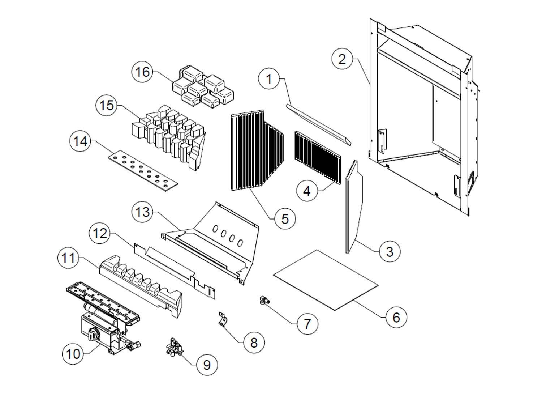 Logic Convector Coals LPG Manual 101418 1 Gazco Spare Parts