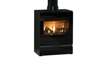 Riva Vision Medium Logs Top Exit - NG - Balanced Flue (526-090)