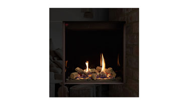 Riva2 600HL Thermostatic Logs - LPG - Conventional Flue