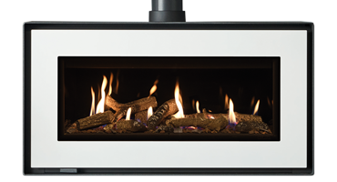 Studio 2 Freestanding Logs - LPG - Conventional Flue