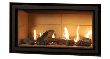 Studio 1 Logs - NG - Balanced Flue (123-180)