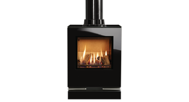Riva Vision Small Top Exit - LPG - Conventional Flue (526-656)