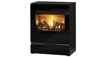 Riva Vision Medium Logs Rear Exit - NG - Balanced Flue (526-155)